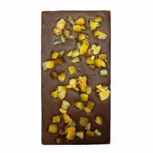Натурален шоколад с портокалови корички