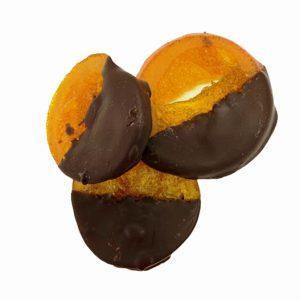 Портокалови резени с натурален шоколад